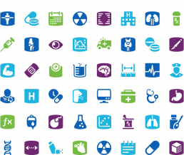 GE Healthcare icons